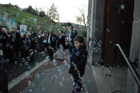 des bulles beaucoup de bulles