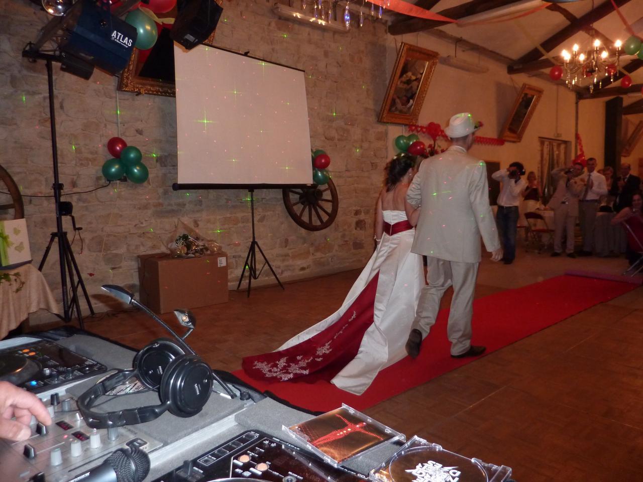 tapis rouge pour nos mariés